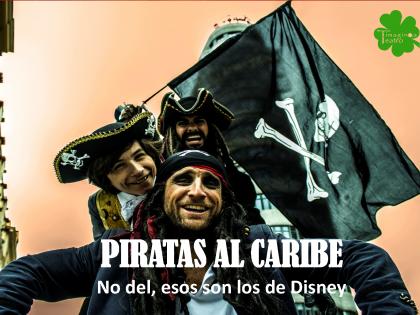 Piratas al Caribe, no del, esos son los de Disney